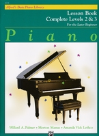 Alfred's Basic Piano Library, Complete levels 2 & 3