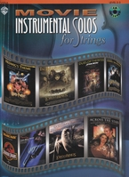 Movie Instrumental Solos for strings + CD - altviool