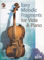 Easy Melodic Fragments for Viola & Piano + CD - altviool