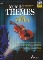 Movie Themes for Viola + CD - altviool