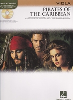 Pirates of the Carribean + CD - altviool