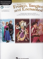 Frozen, Tangled and Enchanted - Cello + audio online