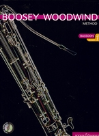 Boosey woodwind method for bassoon. Book 1+ CD