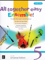 All Together easy Ensemble! / 4-part concert pieces