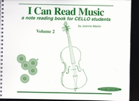 I Can Read Music 2  voor cello  AANBIEDING !