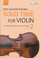 Solo time for violin 2 + CD + pianobegl.  AANBIEDING !