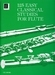 125 Easy Classical Studies for Flute  - Dwarsfluit
