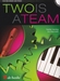 Two is a team + CD + piano  - klarinet