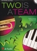 Two is a team + CD - trompet + piano  AANBIEDING !