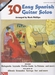 30 Easy Spanish Guitar solos + CD - noten en tab.