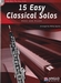 15 Easy Classical Solos - hobo + CD + piano