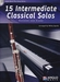 15 Intermediate  Classical Solos - bassoon + CD + piano