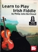 Learn to play Irish Fiddle + online audio